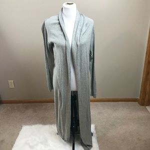 Nordstrom Gray Duster Cardigan